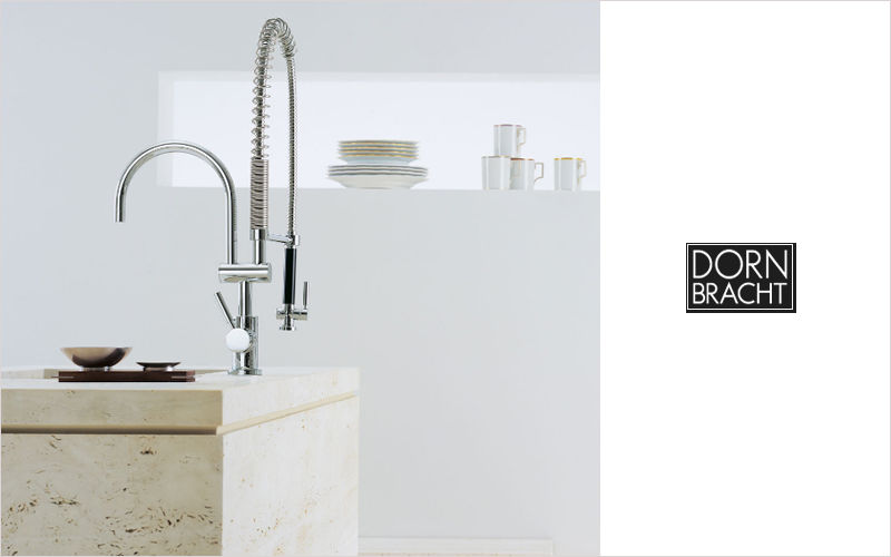 Dornbracht Kitchen mixer tap with spray attachment Kitchen taps Kitchen Equipment  |