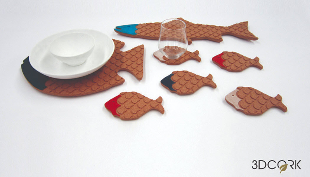 3DCORK Plate coaster Dish mats Tabletop accessories  |