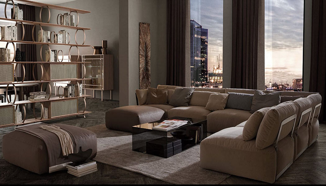 Ego Zeroventiquattro Lounge suite Drawing rooms Seats & Sofas Living room-Bar | Design Contemporary