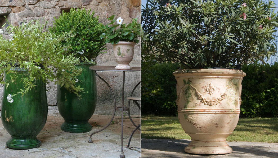 Le Chêne Vert Jar Flowerpots Garden Pots Garden-Pool |