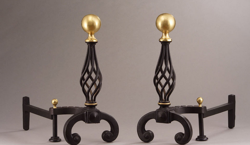 Galerie Atena Andiron Fireside accessories Fireplace  |