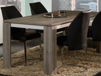 WHITE LABEL - table de repas 160 cm - irys - l 160 x l 88 x h 76 - Rectangular Dining Table