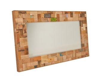 WHITE LABEL - miroir 120 cm - industry - l 120 x l 6 x h 70 - bo - Mirror