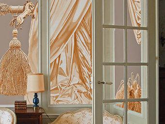 ATELIER MARETTE - draperie s�ve de lentisque, mastic tear, mastix - Panoramic Wallpaper