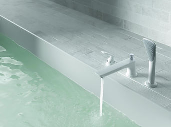 Kludi - balance white - Concealed Bath Mixer