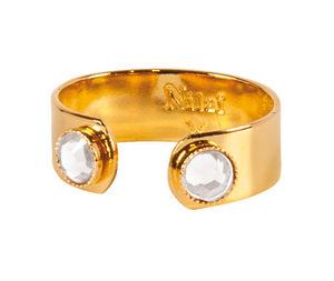 NILAÏ - bague crystal eternity - Jewelry Sets