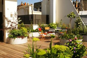 Larbaletier Decked terrace