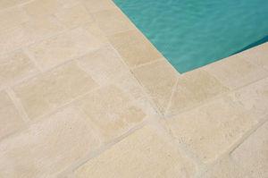 Pool border tile