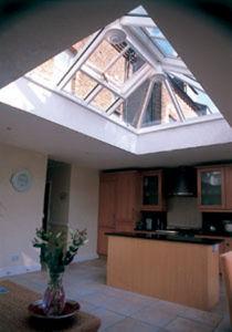 Bartholomew Glass roof