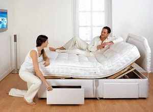 Electric adjustable bed