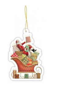 Acte Tre Christmas gift tag