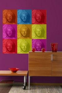 Repositionable wallpaper