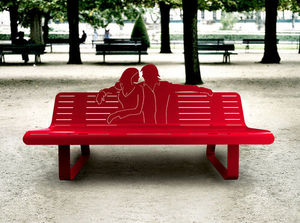 Thomas De Lussac Town bench