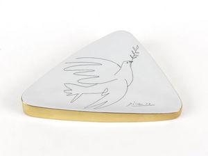 MARC DE LADOUCETTE PARIS - picasso la colombe 1950 - Pin Tray
