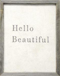 Sugarboo Designs - art print - hello beautiful - Decorative Painting
