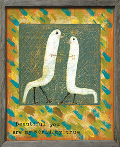 Sugarboo Designs - art print - beautiful you - Decorative Painting