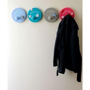 LITTLE BOHEME - porte manteau personnalisé taupe en voiture - Children's Clothes Hook