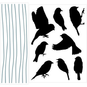 ALFRED CREATION - sticker velours - libre symphonie - Sticker