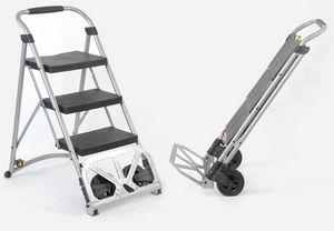 Chalet & Jardin - escadiable 2en1 escabeau et diable - Step Ladder