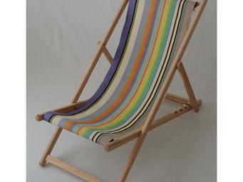 Les Toiles Du Soleil - chilienne sainte colombe - Deck Chair