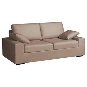 WHITE LABEL - canapé fixe 3 places ethan - 2 Seater Sofa