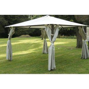 Chalet & Jardin - tonnelle en toile armature acier constantinople 3 - Garden Tent