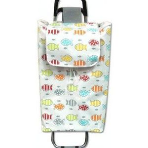 FAYE - chariot de course poissons - Shopping Trolley