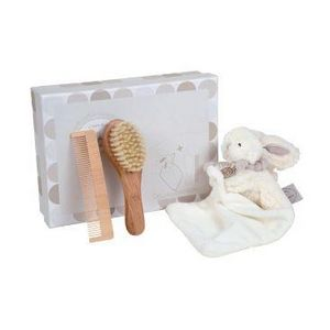 Doudou & Compagnie - lapin bonbon - Newborn Gift Box
