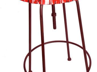 Antic Line Creations - table haute capsule - Bar Stool