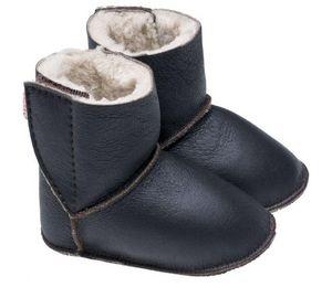 BABBI - shinouk nappa chocolat - Children's Slippers