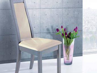 Ateliers De Langres - ceram - chaise skai - Chair