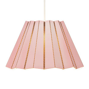 & BROS - compleated - suspension carton rose ø40cm | suspen - Hanging Lamp