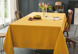 BLANC CERISE - delices de lin safran - Rectangular Tablecloth