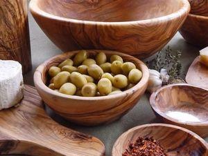 Le Souk Ceramique - olive wood - Salad Bowl