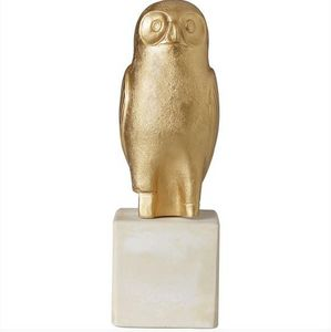 SOPHIA - owl acropolis  - Animal Sculpture