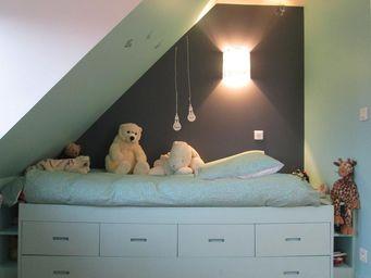 Alix Delclaux - chambre enfant - Interior Decoration Plan