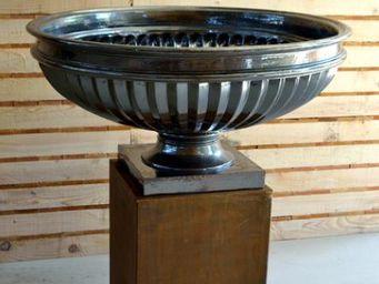 TERRES D'ALBINE - cannelée - Garden Vase