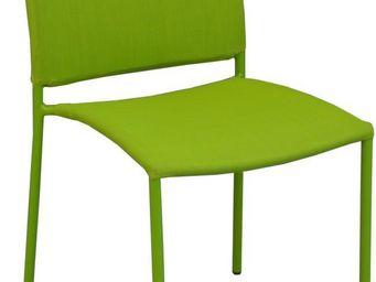 PROLOISIRS - chaise de jardin design bonbon (lot de 6) - Garden Armchair