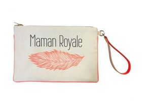 FRENCH KING - maman royale  - Pouch