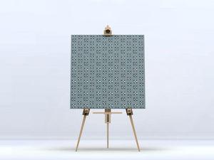 la Magie dans l'Image - toile lotus vert-de-gris foncé - Digital Wall Coverings