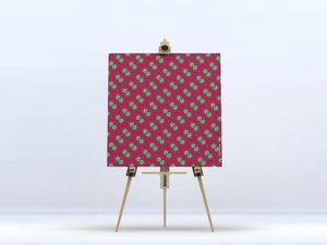 la Magie dans l'Image - toile pattern oiseaux - Digital Wall Coverings
