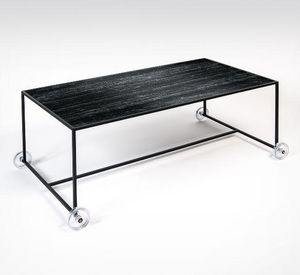 EXTRANORM - opportuniste-- - Coffee Table With Casters