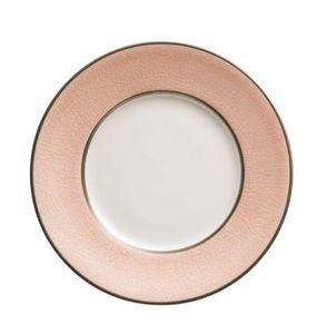 Jaune De Chrome - craquelé givre - Dessert Plate