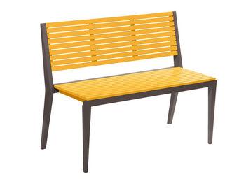 City Green - banc de jardin empilable portofino - 111 x 52.5 x  - Garden Bench