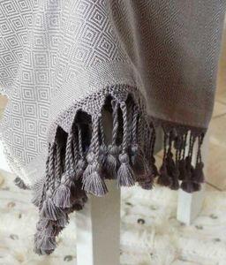 CHIC INTEMPOREL - darbl taupe--- - Fouta Hammam Towel