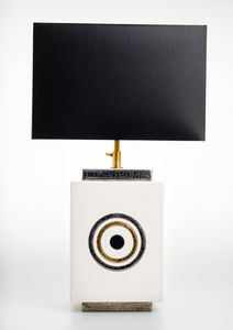 Emaux De Longwy - geo - Table Lamp
