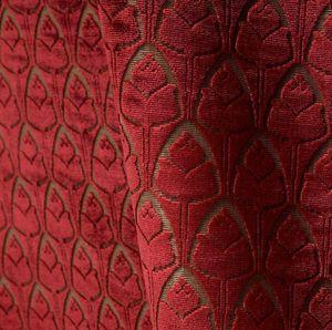 Tassinari & Chatel - tulipes cornaline - Furniture Fabric