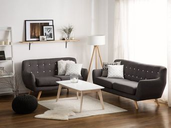 BELIANI - canapé 2 places - 3 Seater Sofa