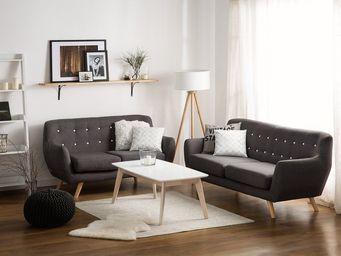 BELIANI - canapé 2 places - 3 Seater Sofa