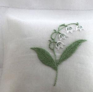 Noel - muguet - Perfumed Cushion